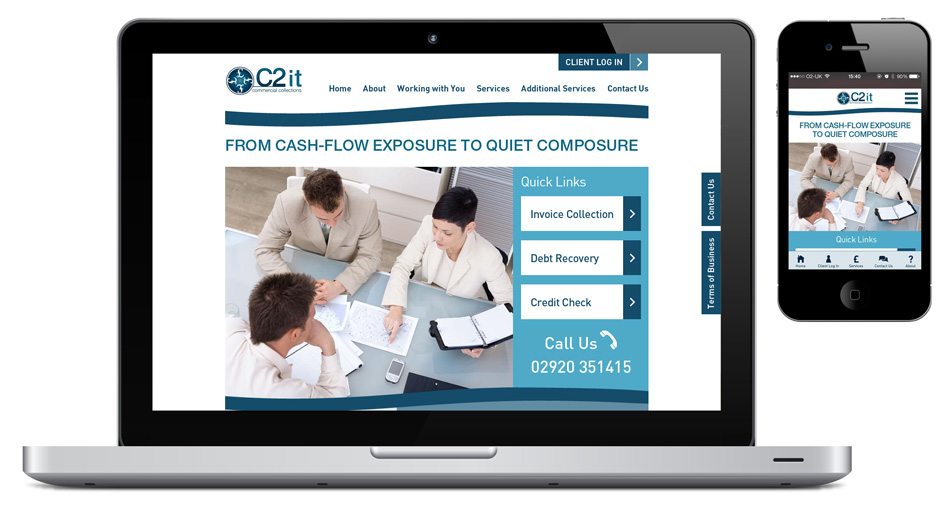 C2It responsive website